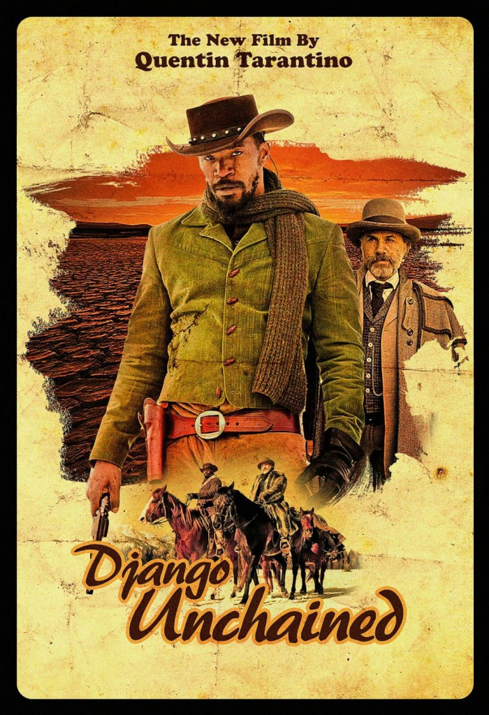 django unchained locandina del film